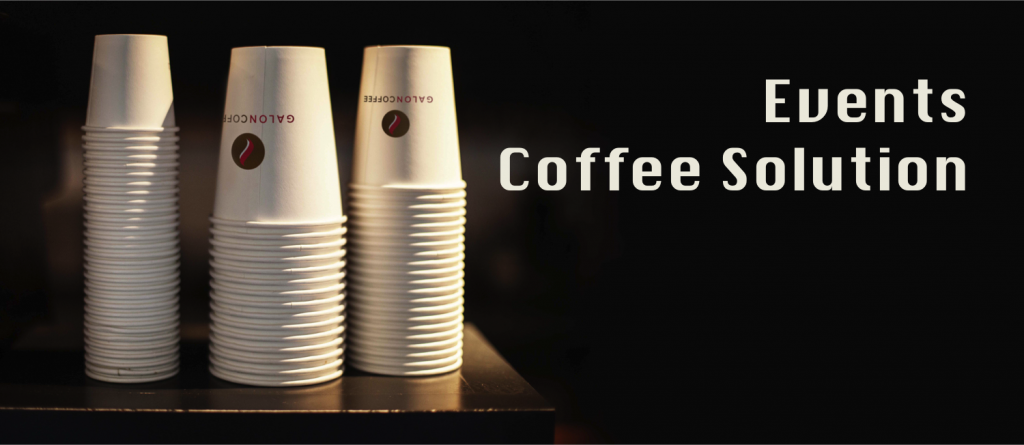 Galon Coffee for events